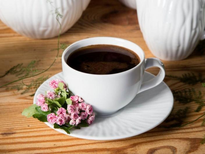Zestaw kawowy na 6 osób porcelana MariaPaula Natura 12 elementów