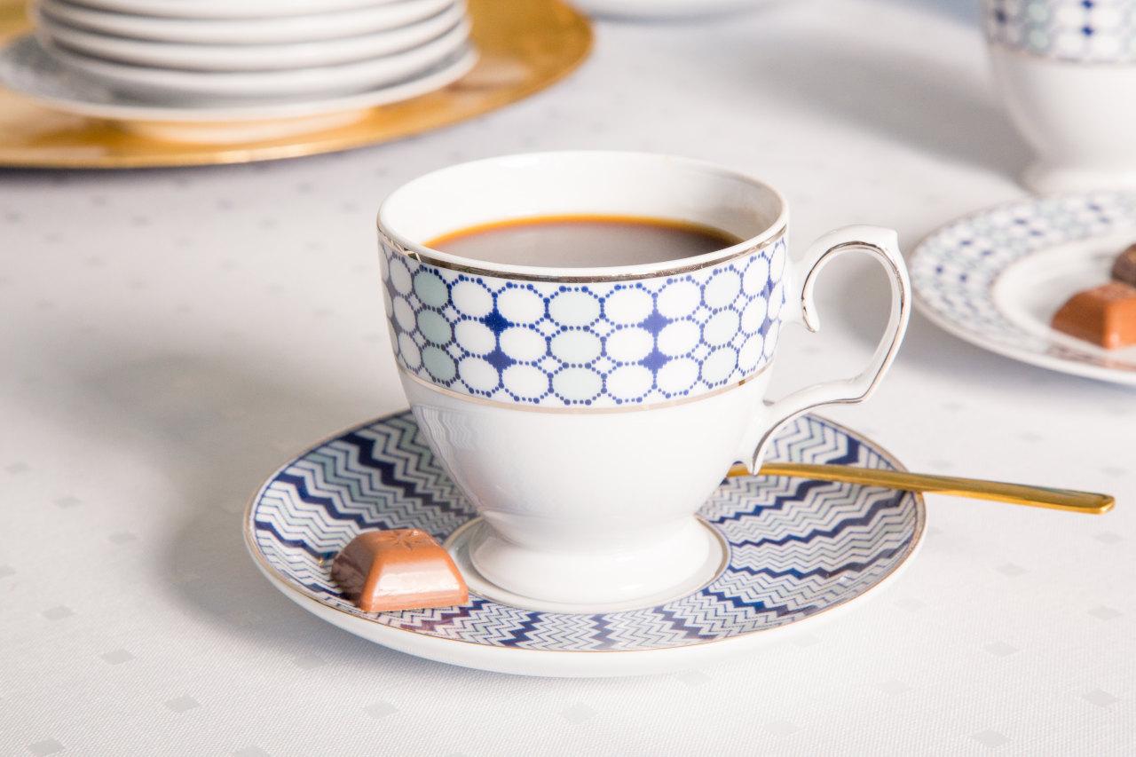 Porcelana MariaPaula Kantata w delikatne wzorki doskonale nadaje się zarówno na święta jak i na codzień