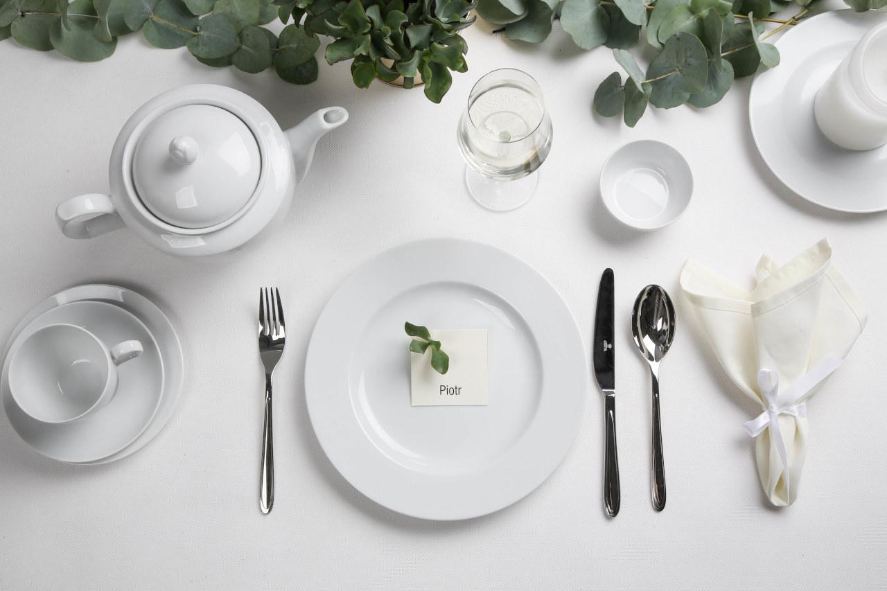 Porcelana MariaPaula Biała wzbogaca rodzinne chwile