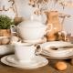 podgrzewanie porcelany, porcelana MariaPaula Klasyka Ecru