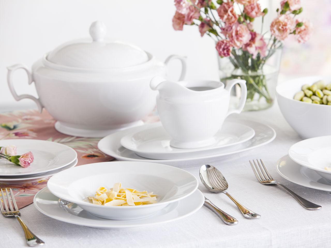 Waza na zupę MariaPaula Klasyka Biała
